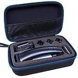 LAVSS Bolso Funda Para Philips BG3010/15 Serie 3000 Philips Serie 5000 BG5020/15 Bodygroom Philips BG3015/15 Afeitadora Corporal Duro Viaje Estuche