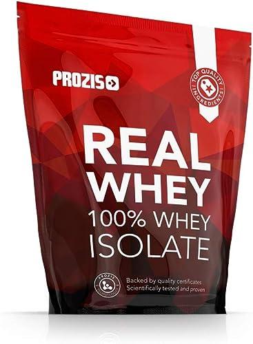Prozis 100% Real Whey Isolate 1000 g Stracciatella Pour la Perte de Poids, la Récupération Musculaire et le Culturism...