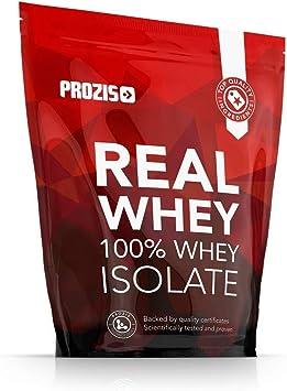Prozis 100% Real Whey Isolate Proteína para Pérdida de Peso, Recuperación Muscular y Culturismo, Contenido Mínimo de Grasa, Mojito - 1000g