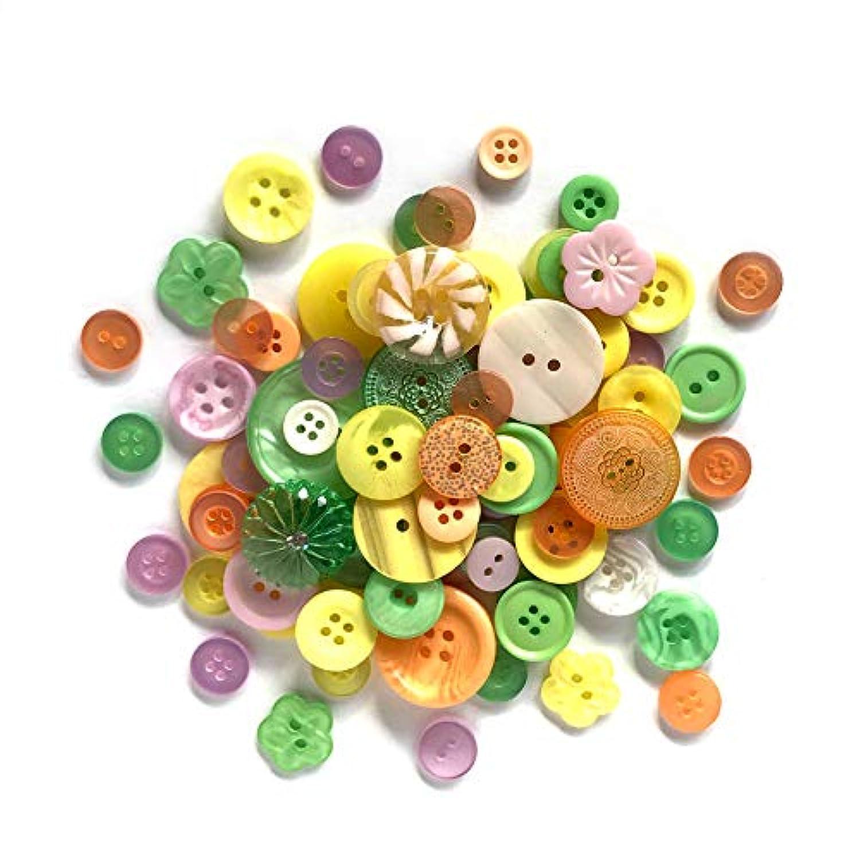 Buttons Galore Grab Bag Citrus Splash Button
