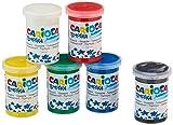 Carioca- Tempera Caja con 6 Vasos a 25ml, Multicolor (KO022)