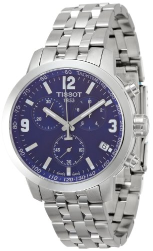 Tissot T055.417.11.047.00 Mens PRC 200 Stainless Steel Chronograph Dive Swiss Made Watch