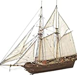 WQF Classical Sailing Boats Scale Model,Sailboat Ship Kit Decoration Boat Gift for Adults to Build Boat Model Kits Tools Home DIY Model