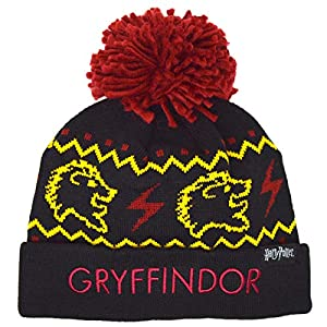 Gorro de lana para niños de Harry Potter Hogwarts Gryffindor 4
