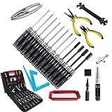 Guokukey Kits de herramientas RC Juego de destornilladores de caja hexagonal Alicates Zócalo de...