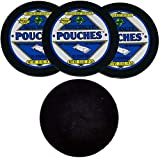 Oregon Mint Snuff Wintergreen Pouch 3 Cans with DC Crafts Nation Skin Can Cover - Black