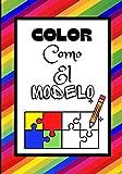 COLOR COMO EL MODELO: Libro de colorear para niños   A partir de los 3 años (Spanish Edition)