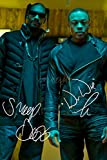 A4 Fotodruck, Motiv: Dr Dre / Snoop Dogg, signiert,