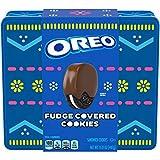OREO Fudge Covered Chocolate Sandwich Cookies, Easter Cookies Gift Tin, 15.8 oz