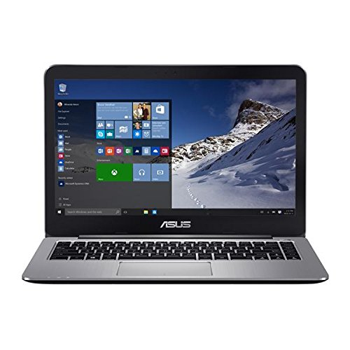 ASUS VivoBook E403SA-US21 14-inch Full HD Laptop (Intel Quad-Core N3700 Processor, 4 GB DDR3...