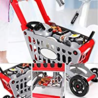 ショッピングカート お買い物カート 子供ままごと遊び 知育おもちゃ 子供プレゼント 1歳以上の女の子 男の子 おもちゃ