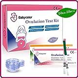 50 Tests de Ovulación 20 mIU/ml y 20 Tests de Embarazo 10mIU/ml, Pruebas De Ovulación y Embarazo, alta sensibilidad