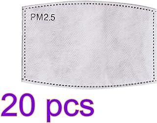 ANYIKE Pm2.5 geactiveerde filter gezichtsmasker filters, beste partner voor beschermend masker, deeltjesmasker filter 20 s...