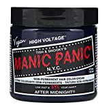 Manic Panic High Voltage Classic Cream Formula Hair Color After Midnight 118ml