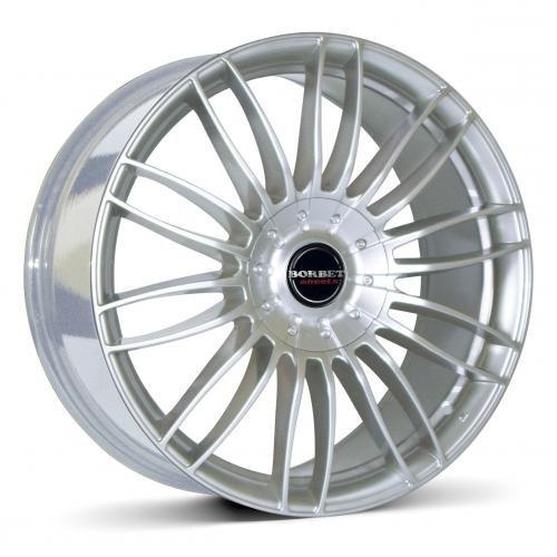 Borbet CW 3 sterling silver 7,5x17 ET40 5.00x114 Hub Bore 66.10 mm - Alu felgen