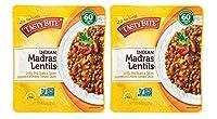 お豆たっぷり 無添加 マドラス風レンティルカレー 285g×2個 ★ コンパクト ★トマトベースのルーに、たっぷりのレンズ豆とインゲン豆。最後まで飽きません。