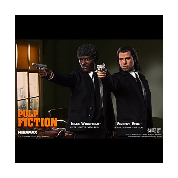 Star Pulp Fiction My Favourite Movie Action Figure 1/6 Jules Winnfield 30 cm 6