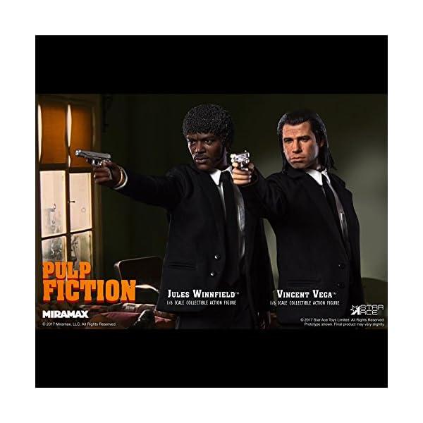 Star Pulp Fiction My Favourite Movie Action Figure 1/6 Vincent Vega 30 cm Toys 2