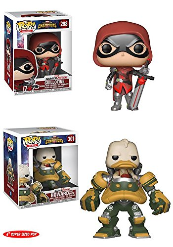 Funko POP! Marvel Contest Of Champions: Guillotine + Howard The Duck