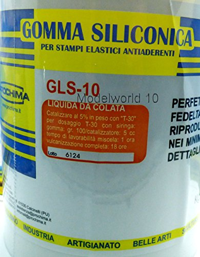 PROCHIMA GLS-10 GOMMA SILICONICA LIQUIDA DA COLATA 1 Kg