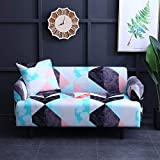 Stretch Sofa Slipcovers Elastic Stretch Sofa Cover for Living Room Couch Cover L Shape Armchair Cover A20 2 Seater