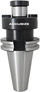 Accusize Industrial Tools 3/4'' to Cat40 Caterpillar V-Flange Shell End Mill Holder, 6780-7102
