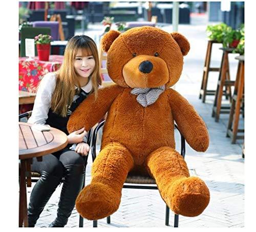 asdfkong Plüschtiere Billige Riesen Ungefüllte Leere Teddybär Bärenfell Mantel Weiche Große Hautschale Halbfertige Weiche Kinderpuppe 80Cm