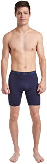 Men's 6-Pack Long Line Performance Mesh Boxer Brief