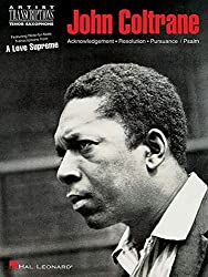 John Coltrane: A Love Supreme: Tenor Sax