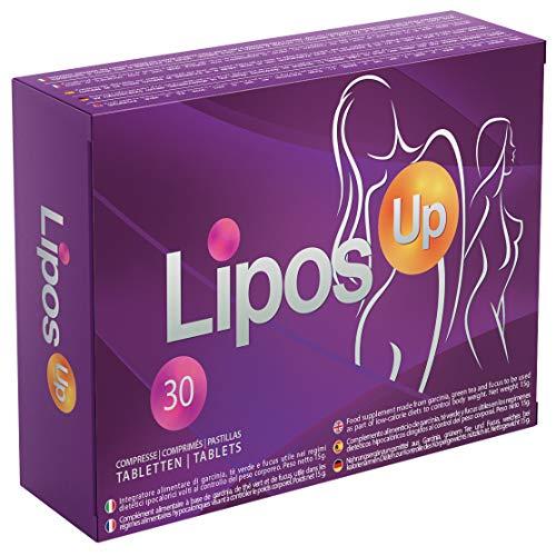 LiposUp | Efecto de liposuccion, ultrarrapido, reduce naturalmente el exceso de grasa, adelgazante eficaz, 100% sin contraindicaciones