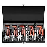 m4 repair kit - HORUSDY 131Pc Thread Repair Kit, HSS Drill Helicoil Repair Kit Metric M5 M6 M8 M10 M12 (Black)
