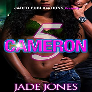 Cameron 5 audiobook cover art