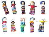 vendo Poupées à soucis, Lot de 10 dans, Grande env. 5,5 cm, poupées à soucis, Quitapenas, poupées tracas, mangeuses de chagrins