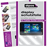 dipos I 2X Schutzfolie klar kompatibel mit TrekStor Surftab wintron 7.0 Folie Bildschirmschutzfolie