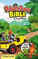 NIrV Adventure Bible for Early Readers Hardcover Full Color