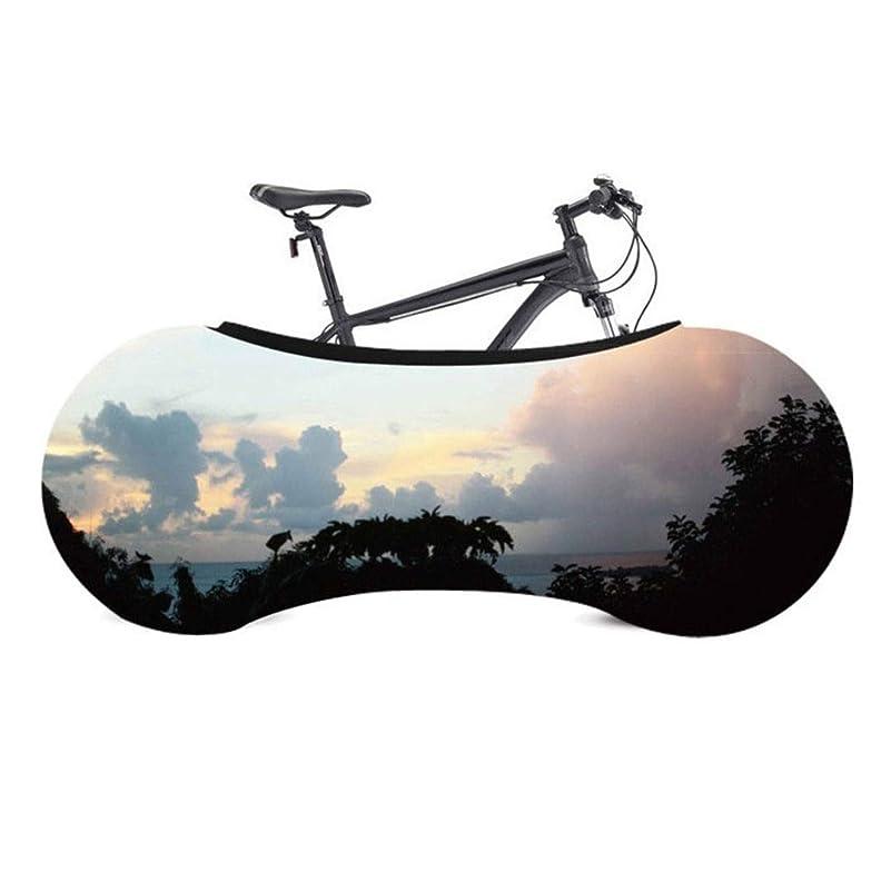 村加入急いでサイクリング自転車カバー 自転車カバー自転車のホイール防塵スクラッチ証拠マウンテンロードバイク用のカバー収納袋屋内の保護具