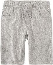 Levi's Boys' Big Soft Knit Jogger Shorts, Grey Heather, XL