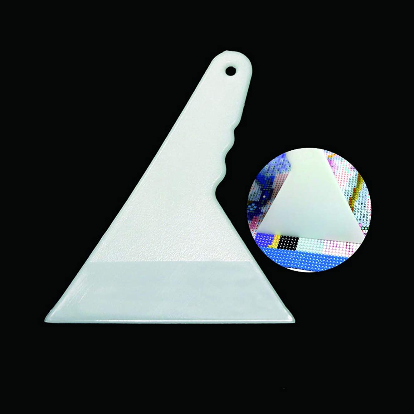 Diamond Painting Fix Tools,Aligning Repair Full Round Drill 5D Diamond Painting Accessories Tools for Diamond Painting Kits for Adults(White)