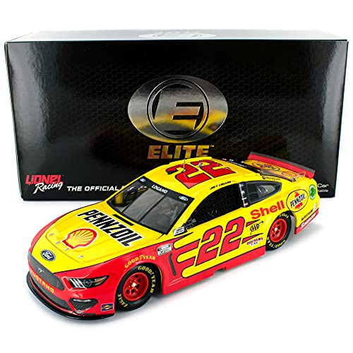 Lionel Racing Joey Logano Elite 2021 Shell Pennzoil Diecast Car 1:24 Scale