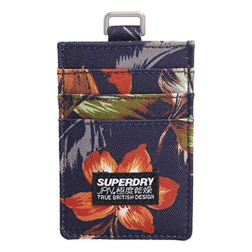 Superdry Stof Card Portemonnee - Hawaiian AOP
