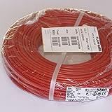 Cable lactasa carótida H07V - K rojo 10 mm², Precio por metro, 4520045,
