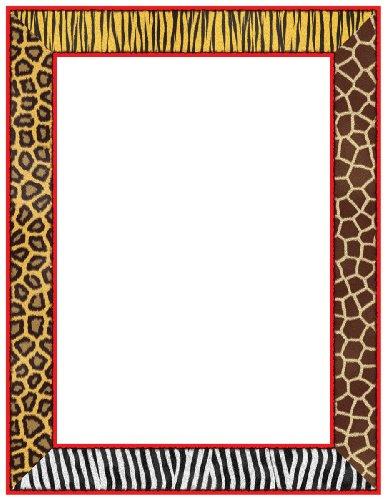 Scholastic TF3584 Safari! Printer Paper