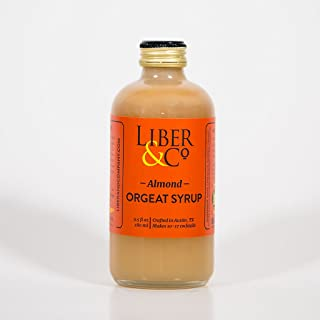Liber & Co. Syrup, Almond Orgeat, 9.5 Ounce