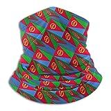 Bandera Eritrea 3D Art Pattern Seaml Bandana Máscara para el rostro Bufanda de diadema Braga de cuello para Raves al aire libre Deportes Festival Musical