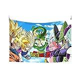 NC153 Tapiz Decorativo de patrón de hogar de Moda de dragón Tapiz Decorativo de Arte de Datura Multicolor 150 × 100cm