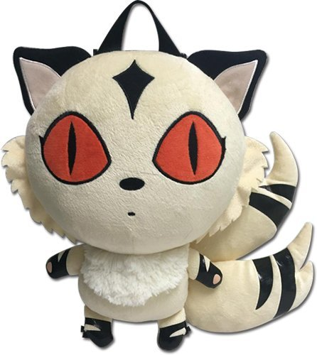 Inuyasha 84628 Kirara Plush Bag 12.5'', Multi, 19""