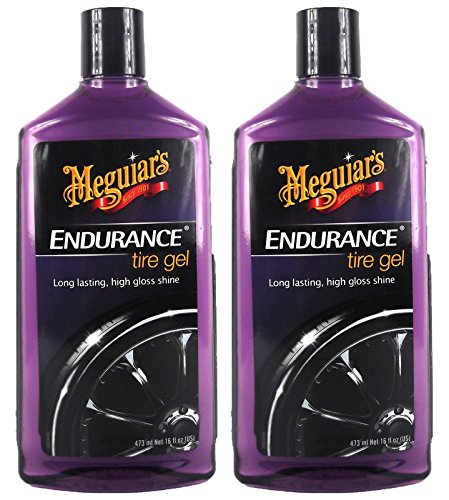 Meguiar's 2X MEGUIARS Endurance High Gloss Reifenschwarz Reifenschutz 473 ml