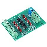 4チャンネルリレーモジュール、DST‑1R8P‑NPLCオプトカプラー絶縁ボード信号電圧変換ボード