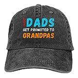Jopath Gorra de béisbol de algodón con diseño de gran papá para hombre y mujer, ajustable, diseño retro, color...
