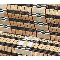 ローラーブラインド バルコニーオーニングウォールプルコード防塵巾着ローラーシェードブラインド防塵防食アンチカビとロールアップウィンドウブラインドブラックアウトサンシェイドハンギング シェーディング (Color : Multi-colored, Size : W90*H100CM)